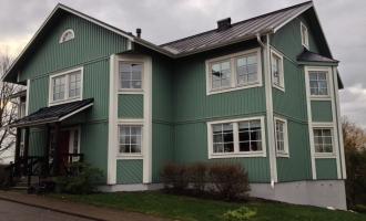 Malning av Hus, Waxholm 4